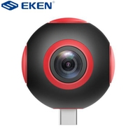 EKEN Pano Live 360 Degree 1920 960 Dual Camera Made For Android Compatible To Type C