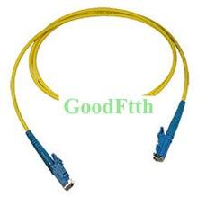 Câble de raccordement de cordon de raccordement de fibres E2000 E2000 UPC SM Simplex GoodFtth 100 500m