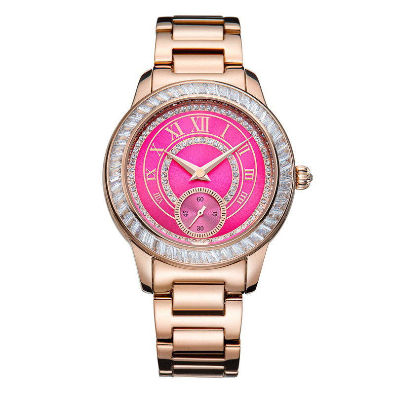 FUYIJIA Rose Gold Watch Women's Watches ladies Quartz Wristwatches Girls Clock Steel Top Brand Luxury Dress Relogios Femininos gold & silver women luxury watches stainless steel dress quartz elegant watch fashion wristwatches ladies relogios top quality