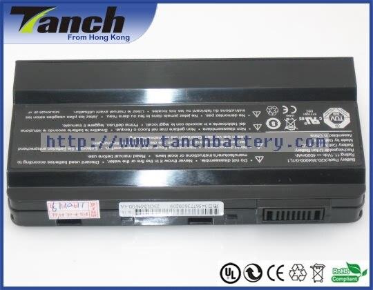 Batterie ordinateur portable pour HASEE W230R X20 X20-3S4000-S1P3 X20-3S4400-C1S5 X20-3S4400-G1L2 W18 W420R W32 11.1 V 6 cellules - 4
