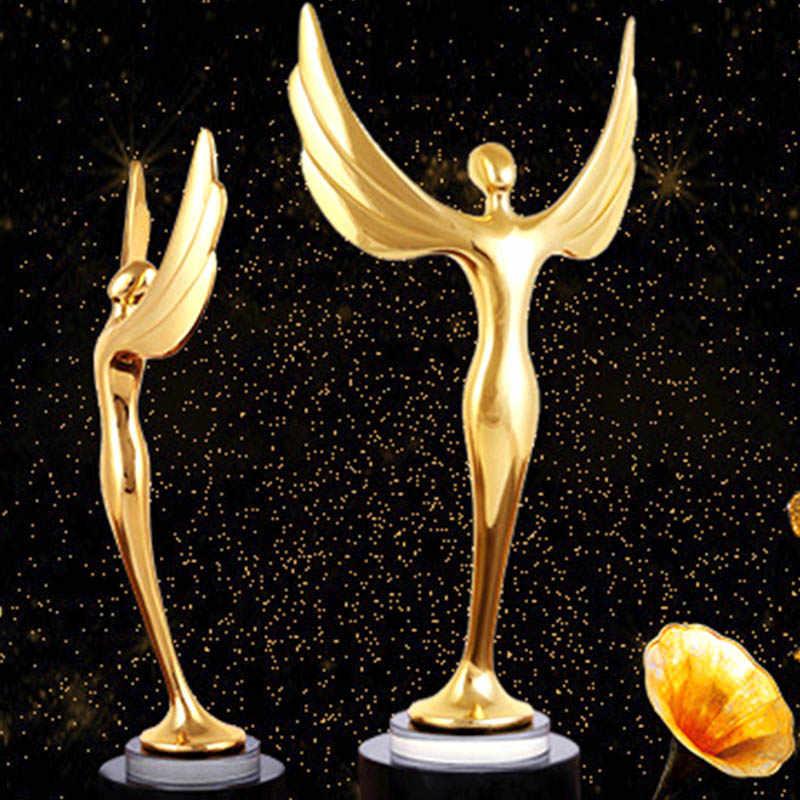 Лидер продаж, призовая награда для танцевального соревнования, трофей, позолоченное металлическое трофей, сувенир, коллекционные предметы, модные трофеи, медаль