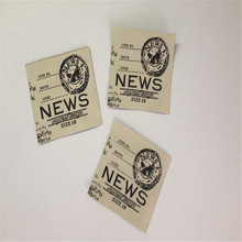 Factory Price Provide High Density Brand Woven Label  For Clothing