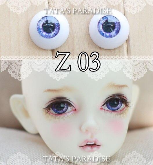 BJD eyes12mm 14mm 16mm 18mm 1 Pair of Eyes Eyeballs Doll Accessories Doll Eyeballs Z03