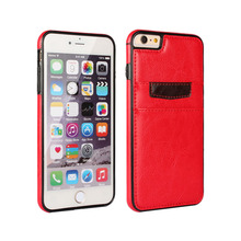 High Quality  Fundas Luxury Retro Leather Cover Case with Card Holder Case Cover for Apple iPhone 6/6 Plus