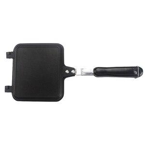 Image 3 - Forma do kanapek 34.5*15cm Pan dwustronnie Grill patelnia naczynia podwójna twarz Pan stek patelnia Pancake outdoor przybory kuchenne