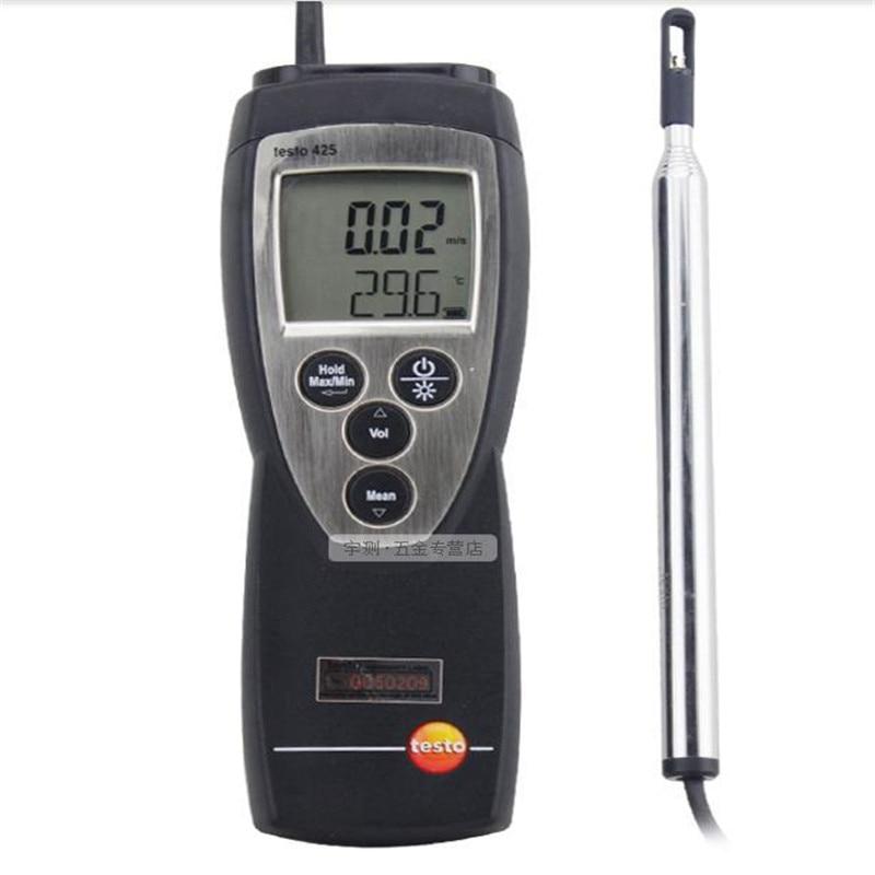 цена Testo 425 Quick Easy Measuring Thermal Anemometer with Extendible Telescopic Probe