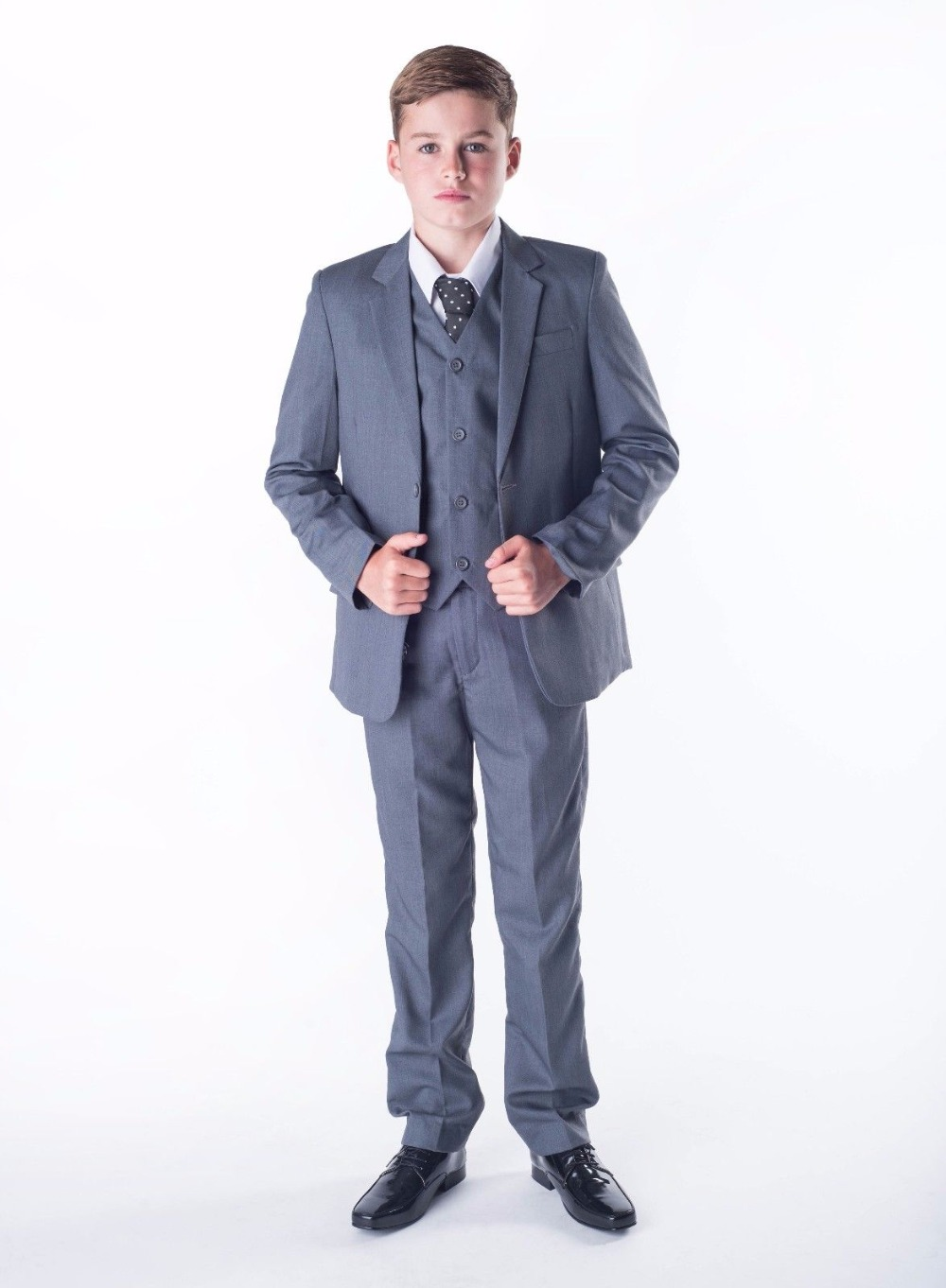 Boys Suits 3 Piece Wedding Suit Prom Page Boy Baby Formal Party 3 Colours серьги page 3