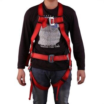 5 in 1 Outdoor Veilig Technische Rock Klimmen Bergbeklimmen Downhill Harnas Rappel Rescue Veiligheidsgordel Kit