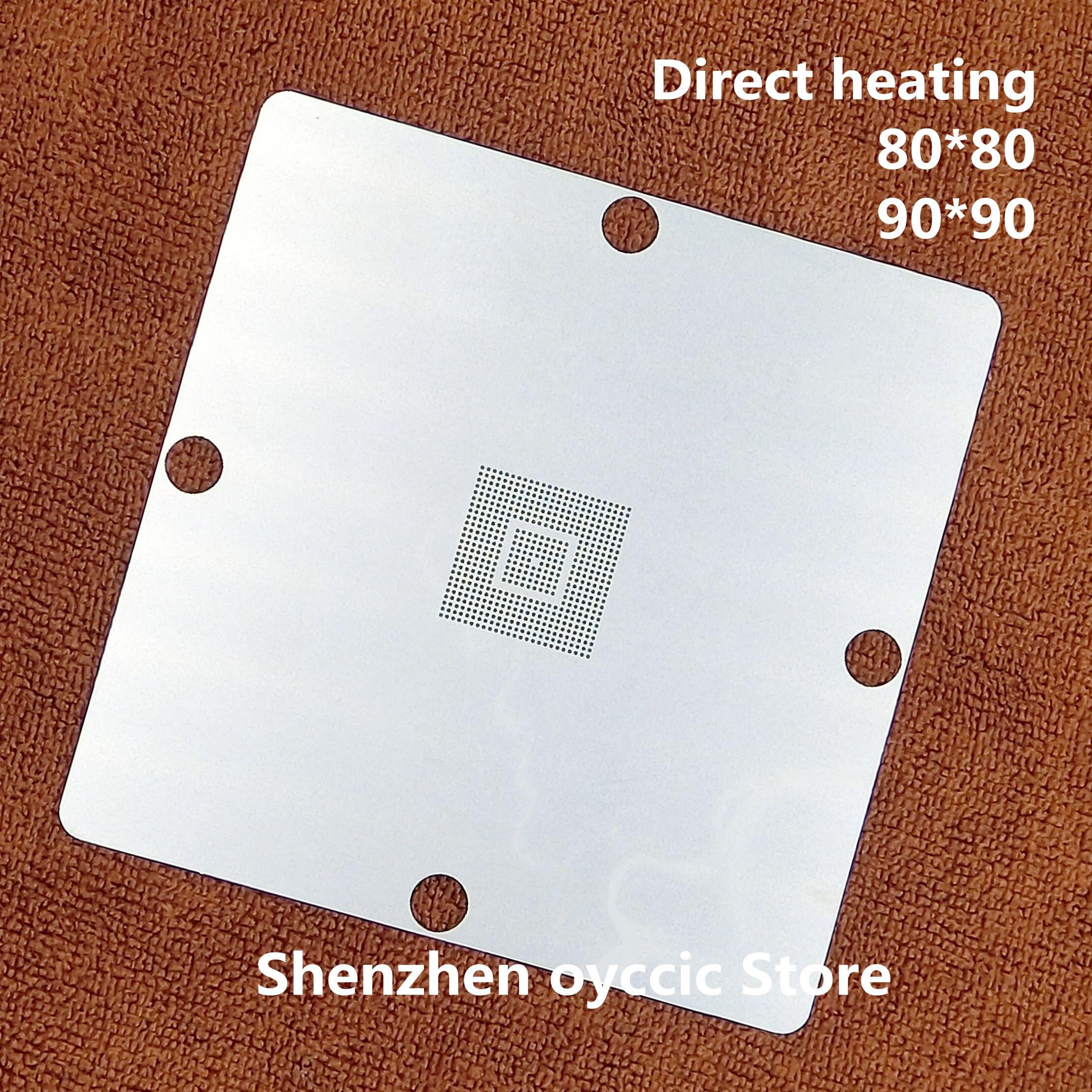 Direct heating 80*80 90*90 S5PV210AA0-LA40 S5PV210A80-LA40 S5PV210AH-AO S5PV210AH-A0 BGA Stencil TemplateDirect heating 80*80 90*90 S5PV210AA0-LA40 S5PV210A80-LA40 S5PV210AH-AO S5PV210AH-A0 BGA Stencil Template