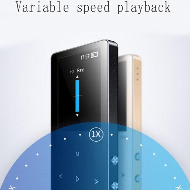 מתכת mp3 נגן 8 gb מגע מסך 1.8 inch רמקול וידאו רדיו FM נגן עבור 64 gb מיקרו SD TF כרטיס