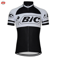 NEW Men Short sleeve BIC Cycling jersey black cycling clothing Bike wear  ropa Ciclismo Quick Dry d8271ef8f