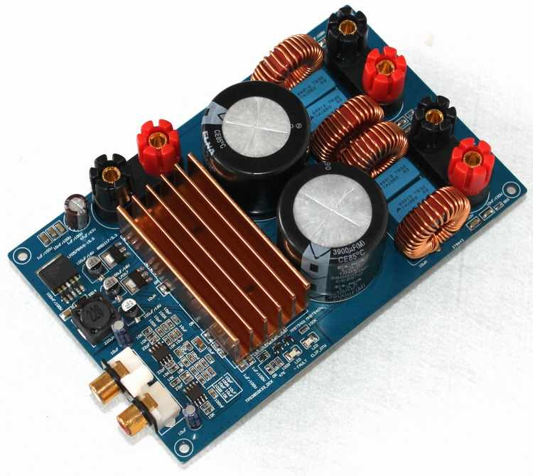 DC50V TPA3255 300 Вт + 300 Вт класса D аудио; цифровой усилитель доска