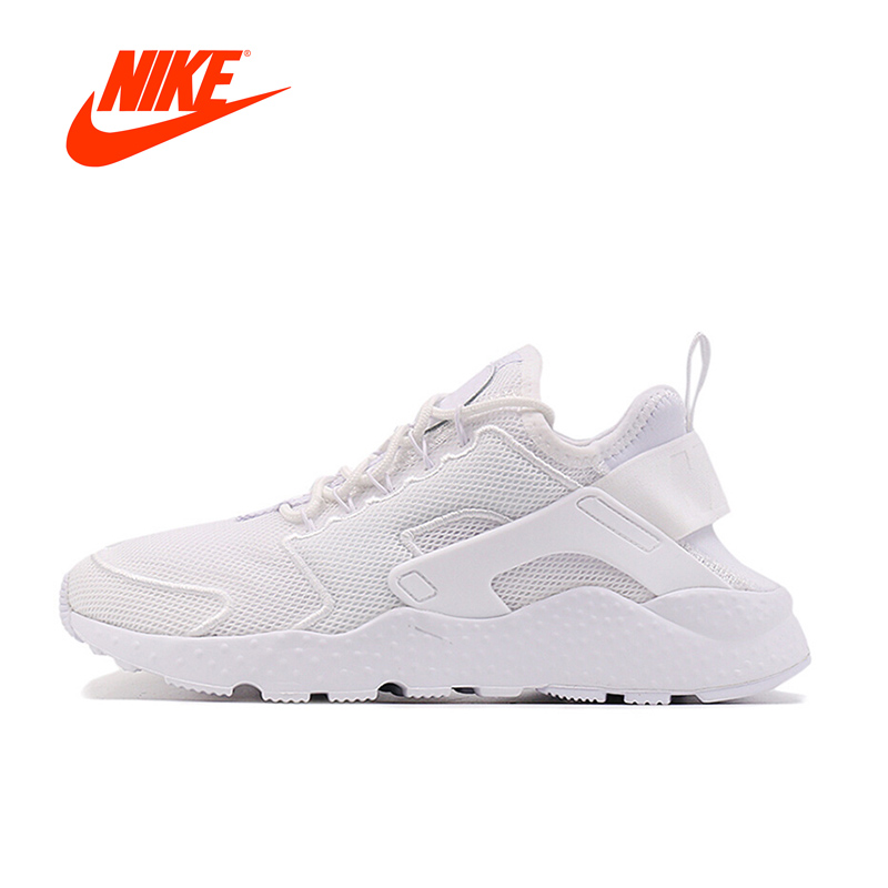 Original New Arrival Authentic NIKE AIR HUARACHE RUN Womens Running Shoes Sports Sneakers Tennis Shoes Breathable Onemix Classic