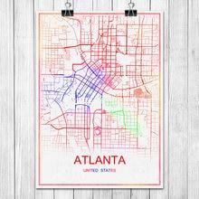 Popular Atlanta MapBuy Cheap Atlanta Map Lots From China Atlanta - Atlanta usa map
