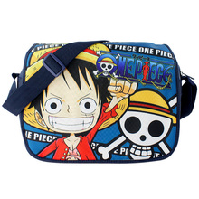 New Anime One Piece Pirates of Hearts SKULL colorful Pattern school Bag Shoulder Bag Backpack