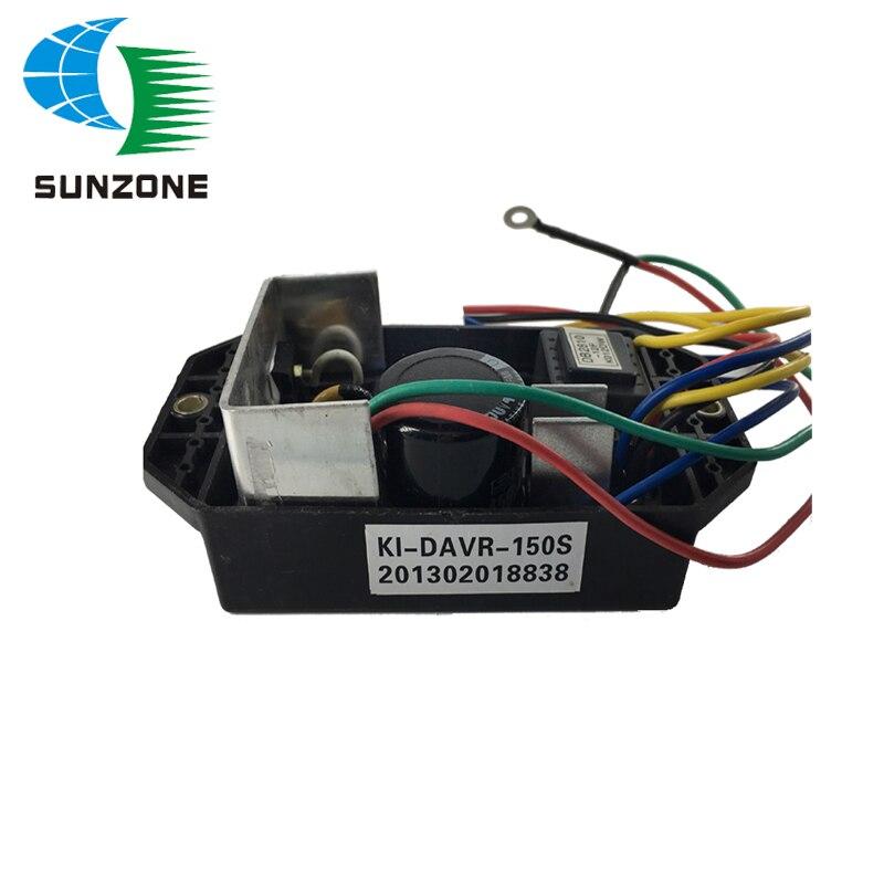цена на Generator Voltage Regulator KI-DAVR-150S KI DAVR 150S Diesel Generator AVR Single Phase