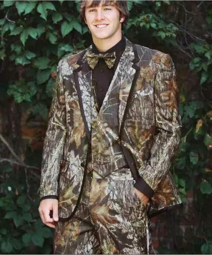 New camouflage dress, unique one button camouflage, men\'s wedding ...