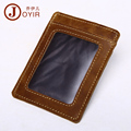 2017 New Genuine Leather Credit Card Holder Card Wallet Purse Id cardholder Wallet Women Men Business Card Pouch Cover K012