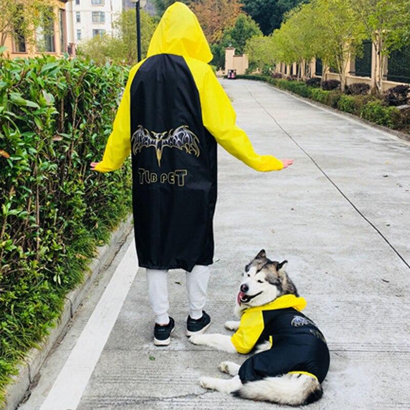 HEYPET Dog Pet Raincoats Big Dog Coat Waterproof Jacket Raincoat Suits High Quality Small Medium Large Dogs Pet Jumpsuit Overall