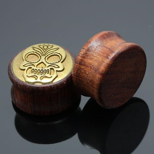 Natural Wood Ear Plugs...