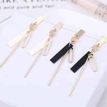 Jewelry Simple Geometric Accessories Earrings with Acrylic Fashion Urban women daily Dress long E01010