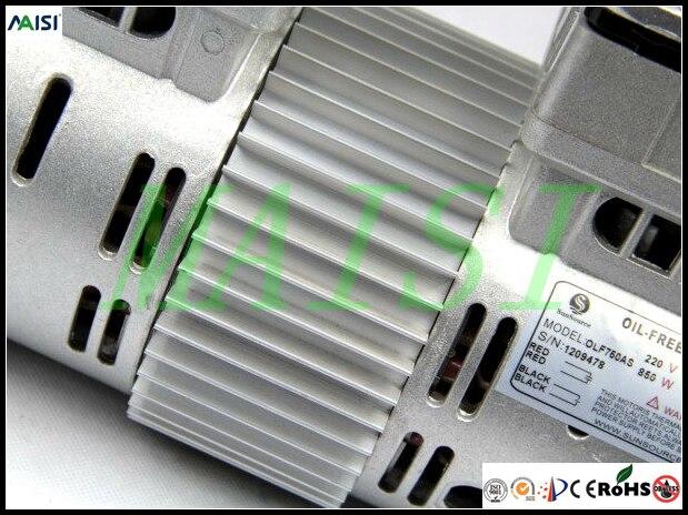 (HYW-850) 110V (AC) 115L/MIN 850 W oil free piston compressor pump