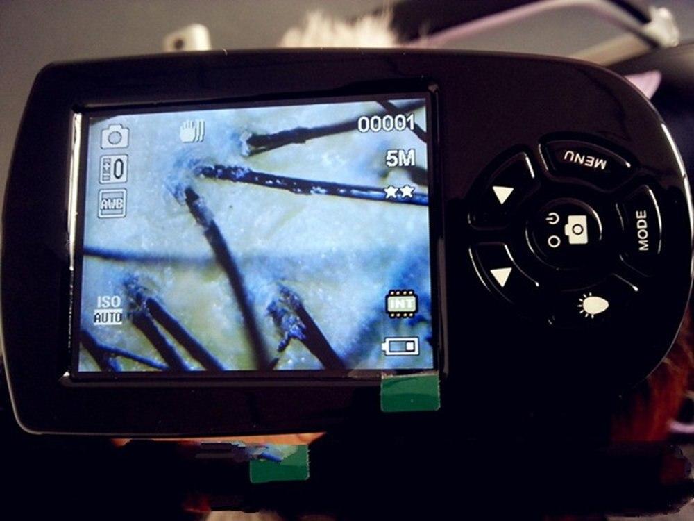 Hordozható 20x-500x 720P / 1080P digitális LCD képernyő USB video - Mérőműszerek - Fénykép 3