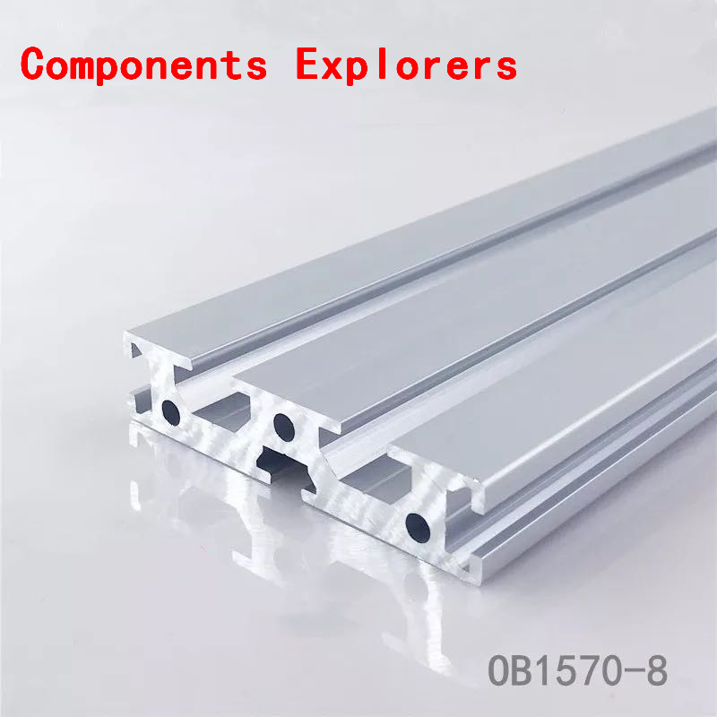 Arbitrary Cutting 1000mm 1570 Aluminum Extrusion Profile,Silvery Color.