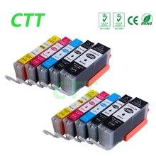 10 PCS cartouches d'encre compatible pour Canon PGI550 CLI551 pour IP7250 MG5450 MX925 MG5550 MG6450 MG5650 MG6650 IX6850 MX725 MX925