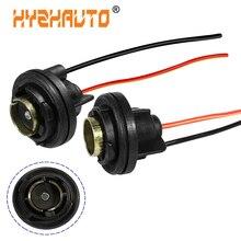 2Pcs 1156 Ba15s T15 W16W P21W Bulb Socket 1157 BAY15D P21/5W Light Base Holder Adapter Harness Connector Car Light Socket