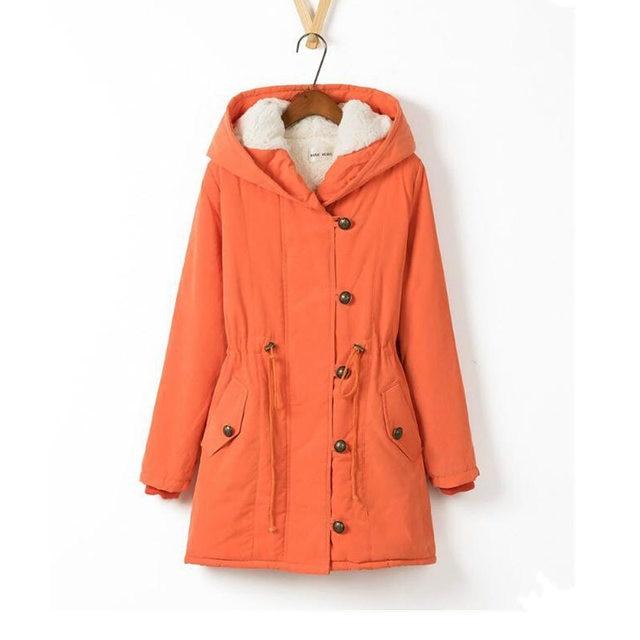 Hot Sale Plus Size Winer Coat Women Winter Jacket Cotton Padded Female Long Section Cashmere Coat Winter Jackets Parka 4XL C1612 4