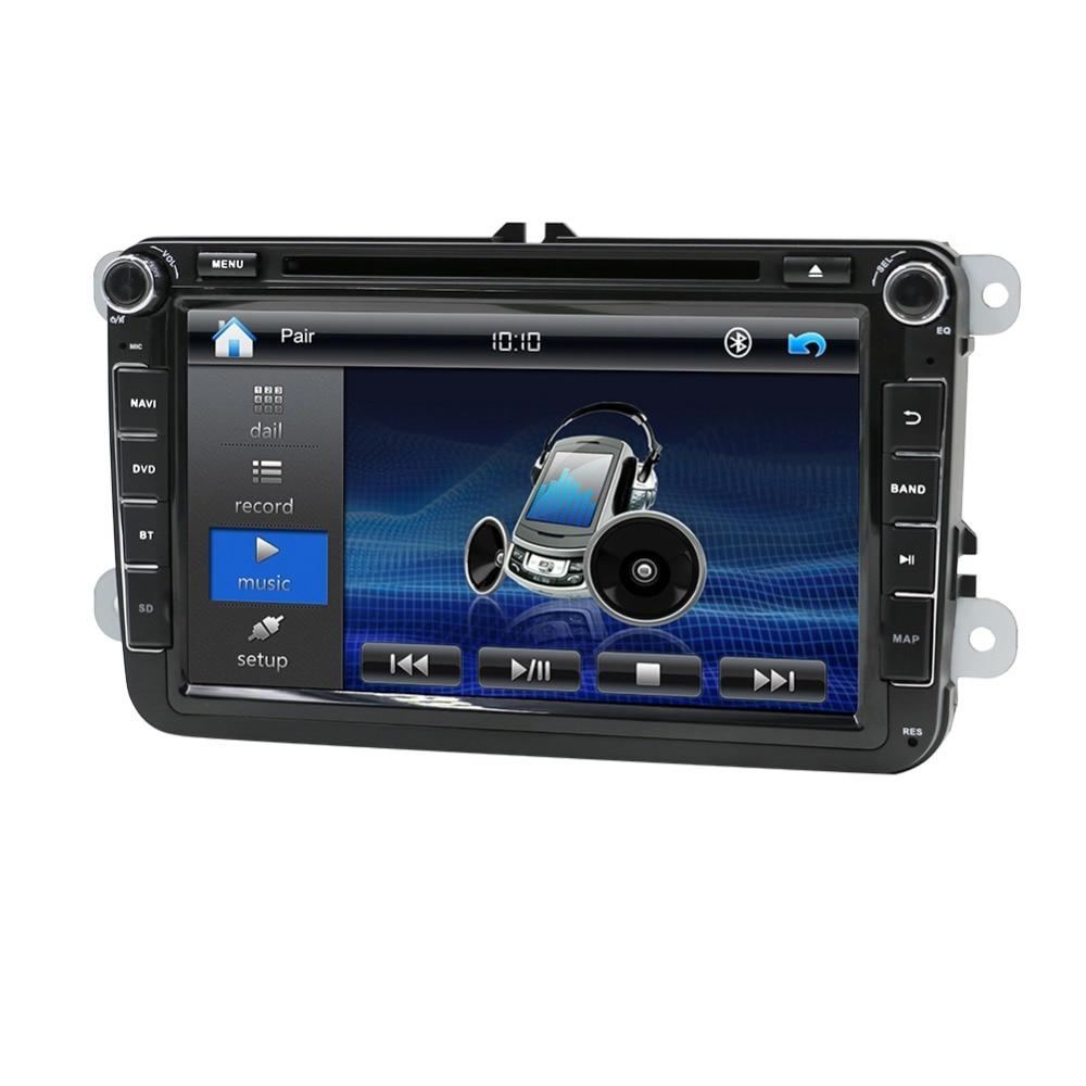 Car 2din VW cheap car dvd players for Volkswagen GOLF VI Navigation GPS Bluetooth Radio USB
