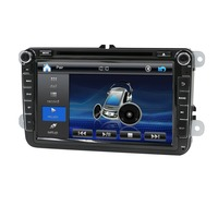 Car 2din VW Car DVD GPS Navigation For Volkswagen GOLF VI Navigation GPS Bluetooth Radio USB