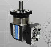PVF120 10 S2 P2 130mm 90 Degree Right Angle Planetary Gearbox Reducer Ratio 10 1 For