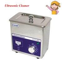 1pc Derui Ultrasonic Cleaner 80W Ultrasonic Washing Machine Jewelry Ultrasonic Dental Equipment Cleaners DR MS07