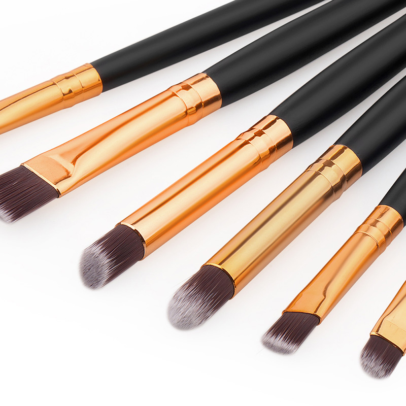 6 PCS Professional Makeup Cosmetics Brushes Eye Shadows Eyeliner Brush Tool Set Kit  SK88