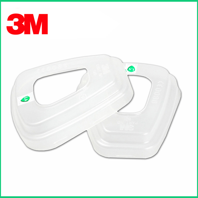 10PCS 3M 501 Cover Filter Retainer Respiratory Protection System Component Be Used To Hold 5N11 Filter