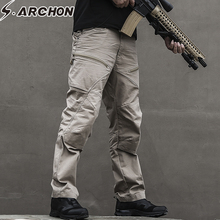 S.ARCHON Tactical Army Military Pants Man US Soldier SWAT Special Force Combat Trousers Men Waterproof Multi Pockets Cargo Pants цена