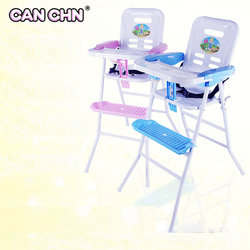 Canchn fold protable light baby high chair with adjustable tray simple baby feed chair high chair.jpg 250x250