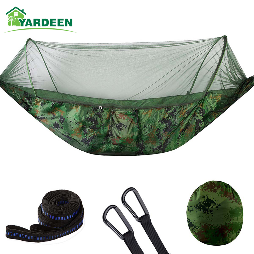 250*120cm/290*140cm Outdoor Camping Tree Hammocks Portable Parachute For Backpacking Survival Travel 8 Colors In Stock