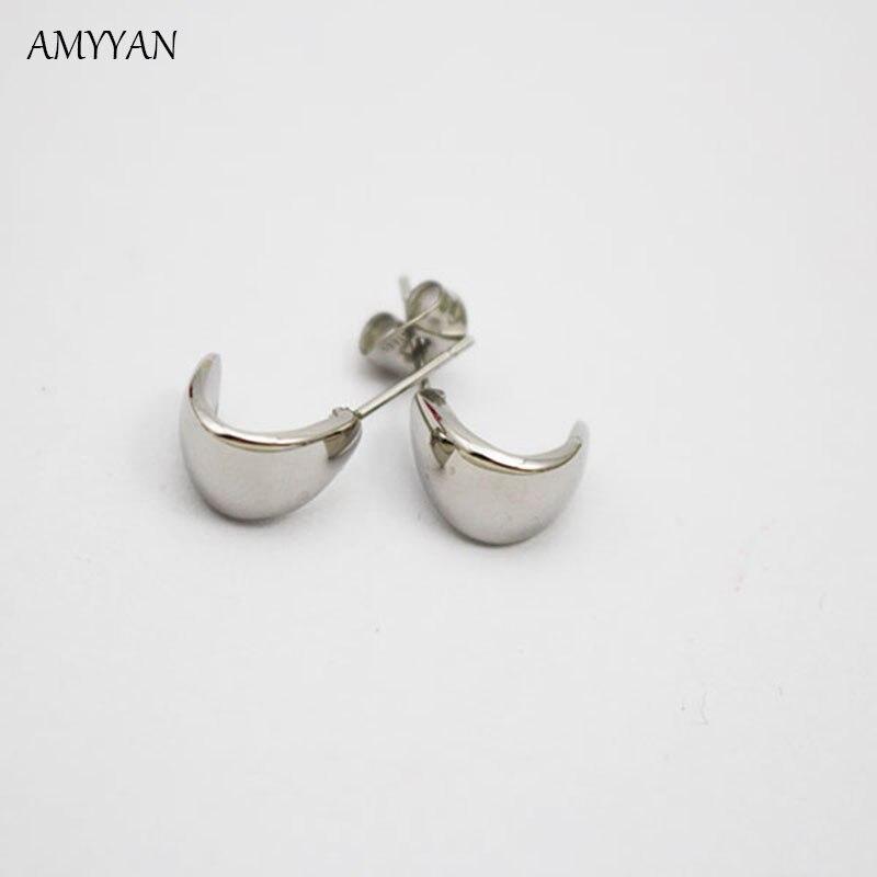 Sale Free Shipping Single Fashion CC Stud Earrings For Men Women ...
