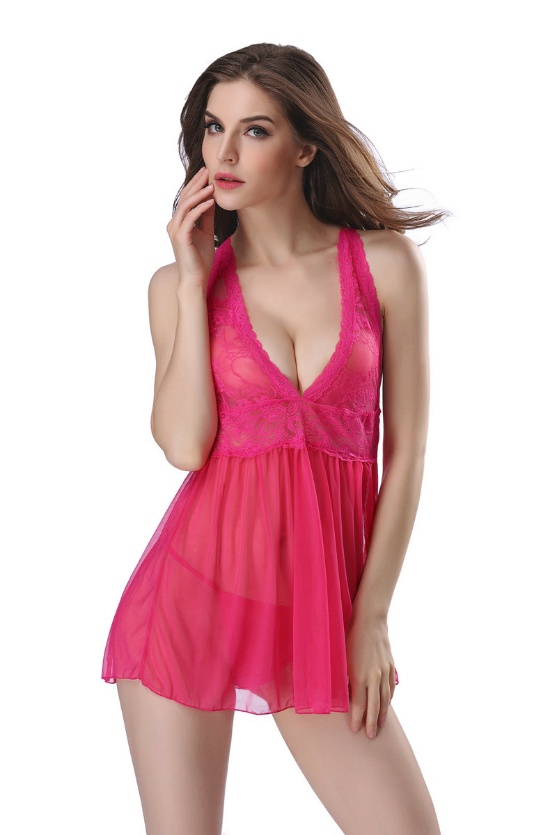 214bd48d302 UIECOE Hot Sexy Lingerie Plus Size Sexy Night Dress Sexy Clothing Set Sexy  Sleepwear Bra set For Women S-2XL