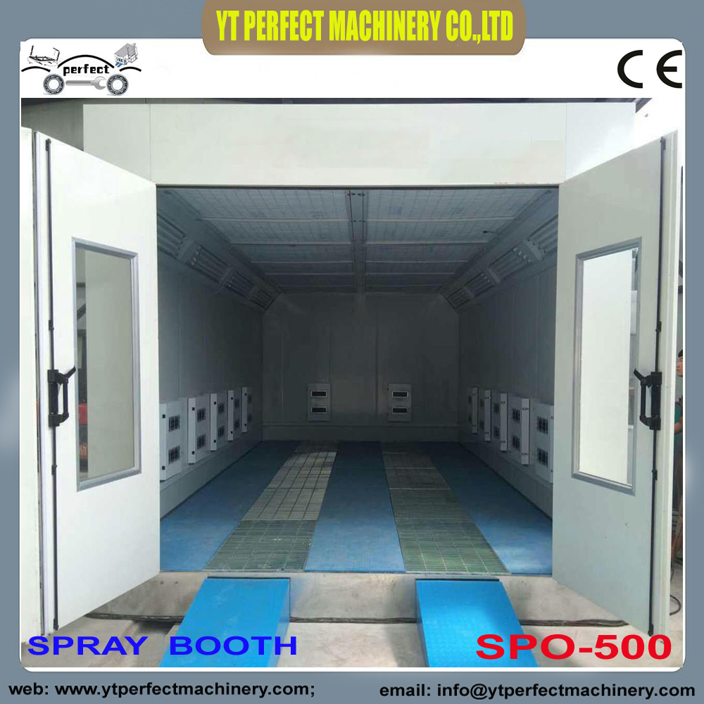 spray booth electric heating type Automotive Paint oven-in ...