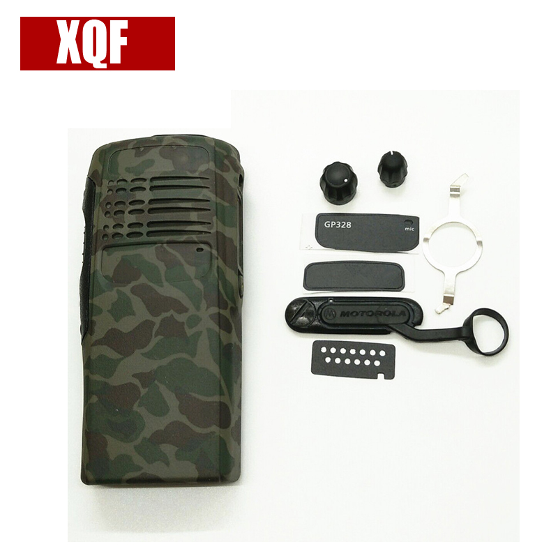 XQF Camouflage Front Case Housing Cover For Motorola For PRO5150 GP328 Radio