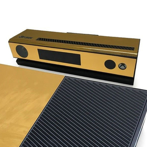 Image 5 - Gold Glossy Skin Sticker For Xbox ONE Console Controller + Kinect Decal Vinyl Compatible with Xbox One console