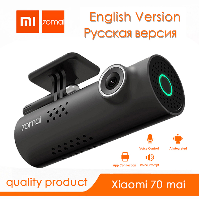 Оригинальный Xiaomi 70mai Автомобильный dvr умная dvr Cam Vision Dash Cam Wifi автомобильная камера Full HD1080HD ночной камера-видеорегистратор Авто рекордер dvr автомобиль