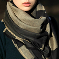 2016 Adult Fashion Sale Bufandas Winter Scarf Brand Women Prorsum Cashmere Monogramed Cape Plaid Check Blanket Bufanda Manta