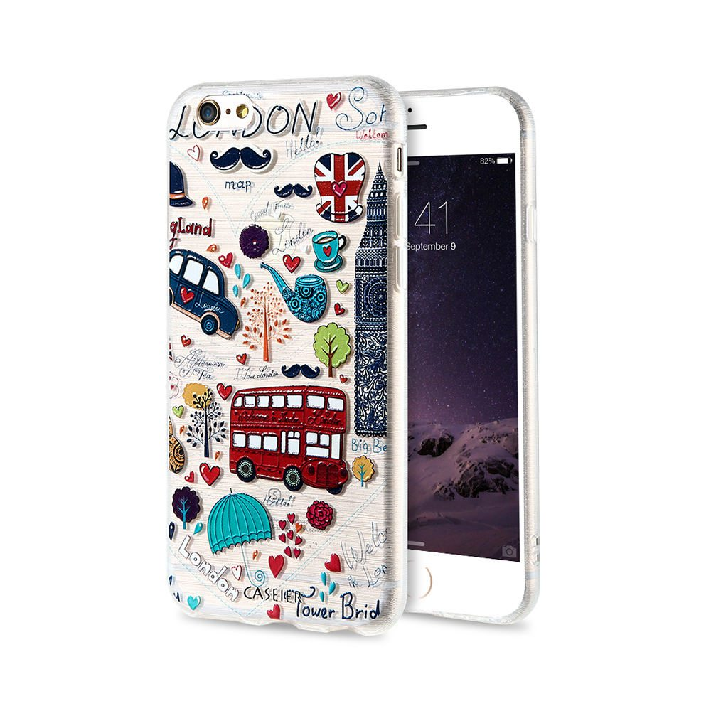 CASEIER Girly Phone Cases For iPhone 5 5S SE 6 6S 7 8 Plus X XS Max XR Soft Silicone TPU Cover For iPhone 6 6S 7 8 Plus X XS MAX
