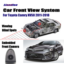 Liandlee Car Front View Camera / For Toyota Camry XV50 2011-2018 2015 2016 Cigarette Lighter Switch 4.3 LCD Monitor Display