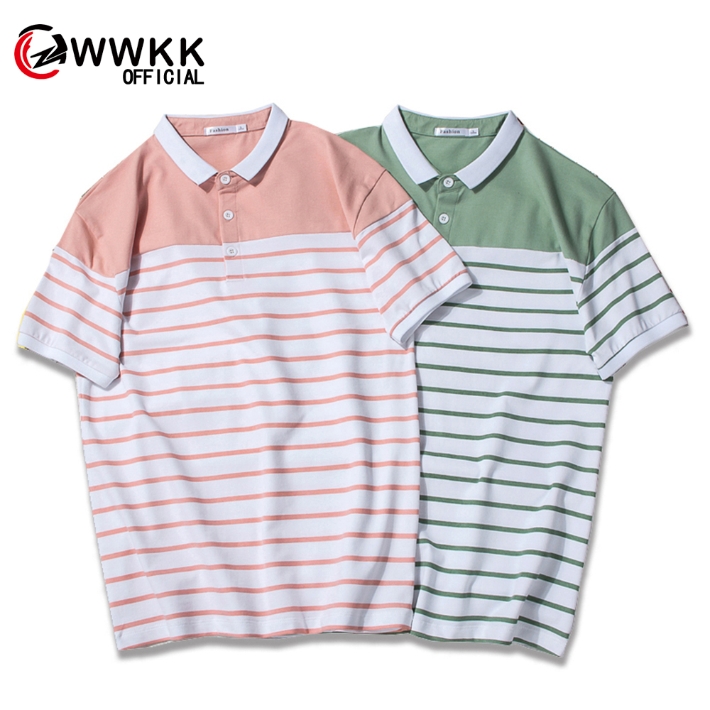 New Man   Polo   Shirt Mens Business Casual Striped Male   Polo   Shirt Short Sleeve High Quality Cotton Short Sleeve High Quantity   polo